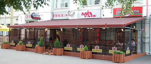 Летнее кафе Лидское пиво в Могилеве